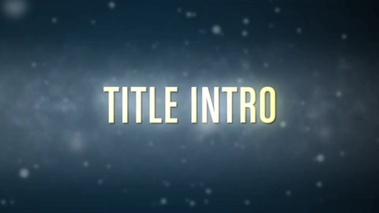 Text Teaser Trailer After Effects Template