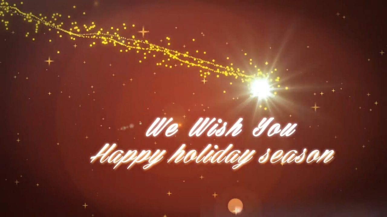 New Year Greeting After Effects Template