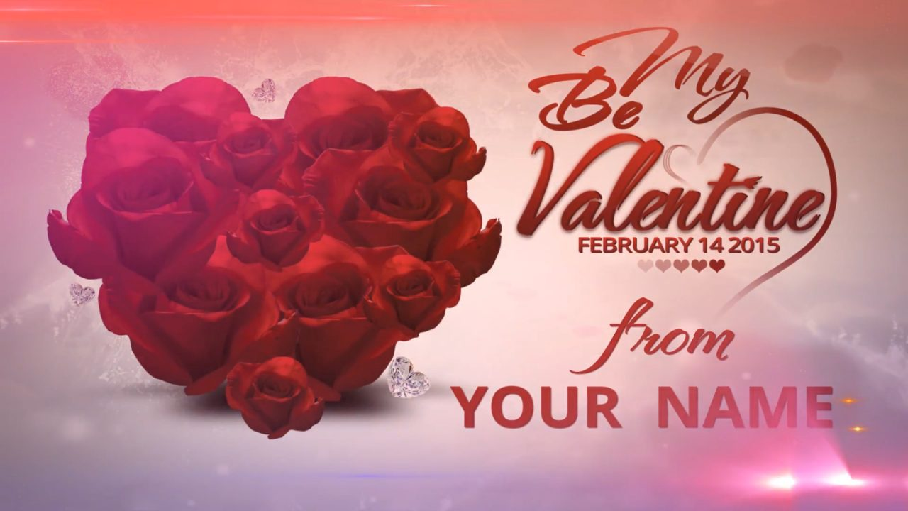 Be my Valentine After Effects Template & Project