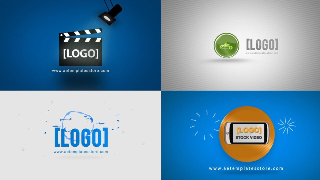 2D Logo After Effects animation Templates