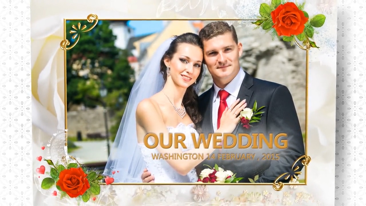 Wedding Book After Effects Template
