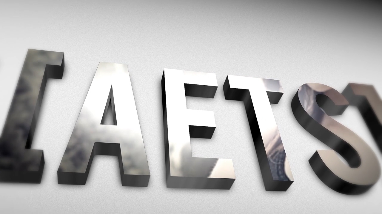 3D Glassy Logo-After Effects Templates